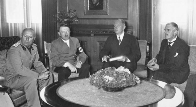 Benito-Mussolini-Adolf-Hitler-Italian-Neville-Chamberlain-September-29-1938